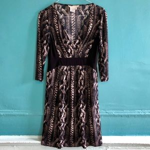 Maggy London Faux Wrap Dress